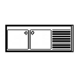 PLONGES • Sans étagère de fond • Série 700 AFI COLLIN LUCY CHR BEST