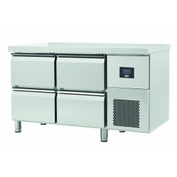Tables Réfrigérées\n gamme afi GN 1/1 • à tiroirs \npositives • évaporateur traité AFI COLLIN LUCY CHR BEST