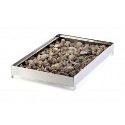 Grille pierre de lave + pierre de lave pour Green Fire HENDI CHR BEST