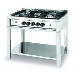 Table de cuisson à gaz - 5 feux HENDI CHR BEST