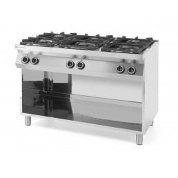 Cuisinière Kitchen Line - 6 feux HENDI CHR BEST