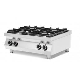 Table de cuisson à gaz Kitchen Line - 4 feux HENDI CHR BEST