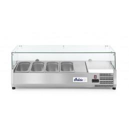 Vitrine réfrigérée 4 x GN 1/3 1205x395x(H)430 mm HENDI CHR BEST