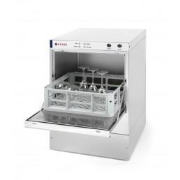 Lave-vaisselle/verre K40 avec pompe doseur produit lavage HENDI CHR BEST