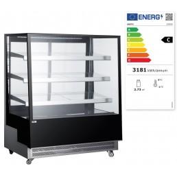 Vitrines réfrigérées avec 3 étagères inclinées 650 L HENDI CHR BEST