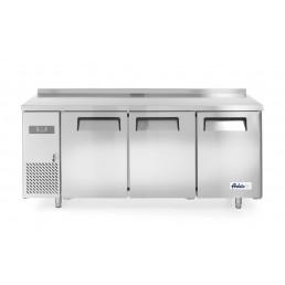 Congélateur comptoir avec trois portes Kitchen Line 390L HENDI CHR BEST