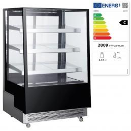 Vitrines réfrigérées avec 3 étagères inclinées 500 L HENDI CHR BEST