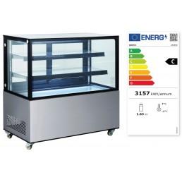 Vitrine réfrigérée avec 2 étagères 410 L HENDI CHR BEST