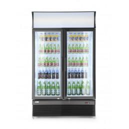 Armoire réfrigérée porte vitré double 750L HENDI CHR BEST