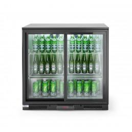Arrière de bar réfrigéré portes coulissantes 228 L HENDI CHR BEST