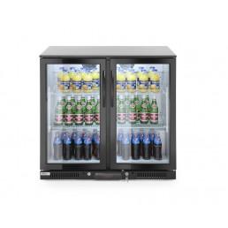 Arrière de bar réfrigèré double portes 228L 2/10°C HENDI CHR BEST