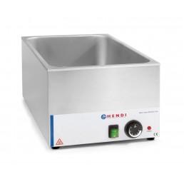 Bain-Marie électrique Eco-Line GN 1/1 h150mm HENDI CHR BEST