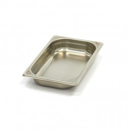 Bac Gastronorme Inox 1/4GN | 40mm | 265x162mm MAXIMA CHR BEST