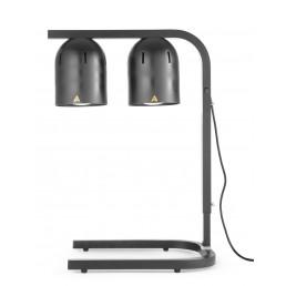 Portique chauffe-plat avec 2 lampes infrarouges HENDI CHR BEST