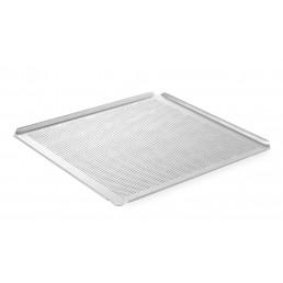 Plateau perforé GN 2/3 - avec 4 bords Aluminium HENDI CHR BEST