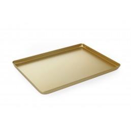 Plateau en aluminium - couleur or 400x300x(H)20 mm HENDI CHR BEST
