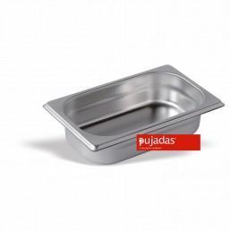 BAC GASTRONORME INOX 1/4 65 MM En INOX 18/10 de Haute Qualité PUJADAS CHR BEST