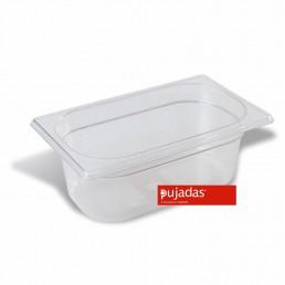 BAC GN en Polycarbonate 1/4 100 MM PUJADAS CHR BEST