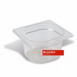BAC GN en Polycarbonate 1/6 100 MM PUJADAS CHR BEST