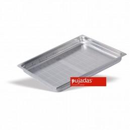 BAC GN INOX PERFORE 2/1 100 MM En INOX 18/10 de Haute Qualité PUJADAS CHR BEST