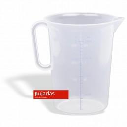 Pot mesureur en polypropylène 1 LTS. PUJADAS CHR BEST