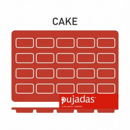 MOULES SILICONE Mini CAKE 20 produits 49*26*11 PUJADAS CHR BEST