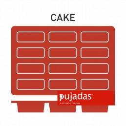 MOULES SILICONE Mini CAKE 12 produits 80*30*30 PUJADAS CHR BEST