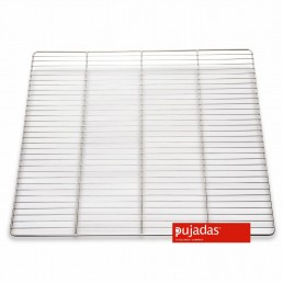 Grille acier inoxydable gastronorme GN 2/1 PUJADAS CHR BEST