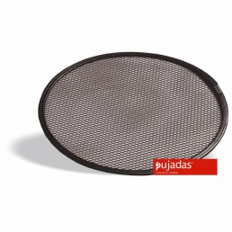 PLAQUES À PIZZA base maillée aluminium anti-adhésive pour pizza 35.5CM PUJADAS CHR BEST