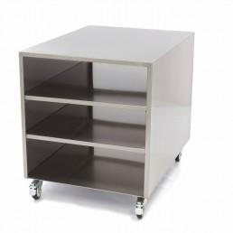 Table de Machine - Base sur Roues 60 x 80 cm MAXIMA CHR BEST