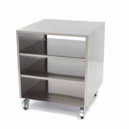 Table de Machine - Base sur Roues 60 x 60 cm MAXIMA CHR BEST