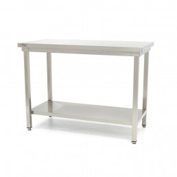 Table en Inox 'Deluxe' 1400 x 600 mm MAXIMA CHR BEST