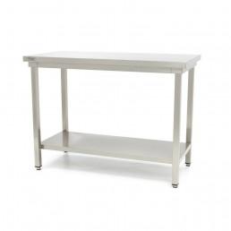 Table en Inox 'Deluxe' 2000 x 600 mm MAXIMA CHR BEST