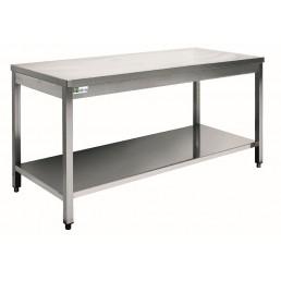 TABLES Inox 700 par 800mm AFI COLLIN LUCY CHR BEST