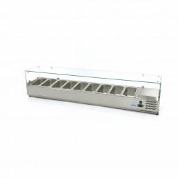 Vitrine Réfrigérée / Froide de Comptoir 200 cm - 1/3 GN MAXIMA CHR BEST