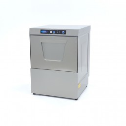 Lave-Vaisselle Commercial + Pompes Savon & Vidange VN-500 Ultra 400V MAXIMA CHR BEST