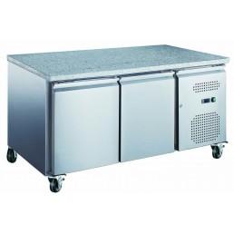 Tables Réfrigérées\n série star 600x400 • \nplans de travail granit\n évaporateur traité AFI COLLIN LUCY CHR BEST