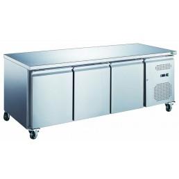 Tables Réfrigérées\n série star 600x400 • \nplans de travail inox\n évaporateur traité AFI COLLIN LUCY CHR BEST