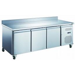 Tables Réfrigérées\n série star GN 1/1 • avec dosseret • évaporateur traité AFI COLLIN LUCY CHR BEST