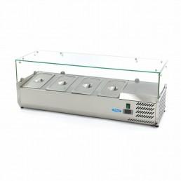 Vitrine Réfrigérée / Froide de Comptoir 120 cm - 1/3 GN MAXIMA CHR BEST