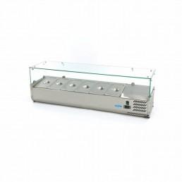 Vitrine Réfrigérée / Froide de Comptoir 140 cm - 1/3 GN MAXIMA CHR BEST
