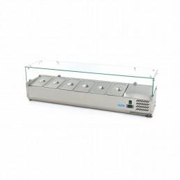Vitrine Réfrigérée / Froide de Comptoir 150 cm - 1/3 GN MAXIMA CHR BEST