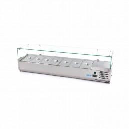 Vitrine Réfrigérée / Froide de Comptoir 160 cm - 1/3 GN MAXIMA CHR BEST