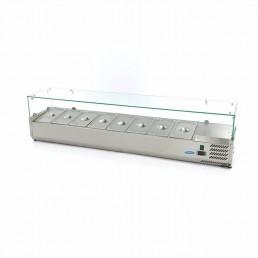 Vitrine Réfrigérée / Froide de Comptoir 180 cm - 1/3 GN MAXIMA CHR BEST