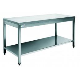 TABLES Inox 600 par 1400mm AFI COLLIN LUCY CHR BEST