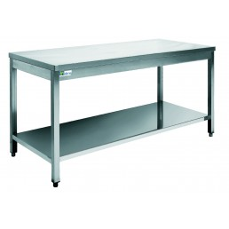 TABLES Inox 600 par 1500mm AFI COLLIN LUCY CHR BEST